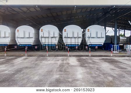 Segments Of Soyuz Rockets At Soyuz Launch Complex At Centre Spatial Guyanais Guiana Space Centre In
