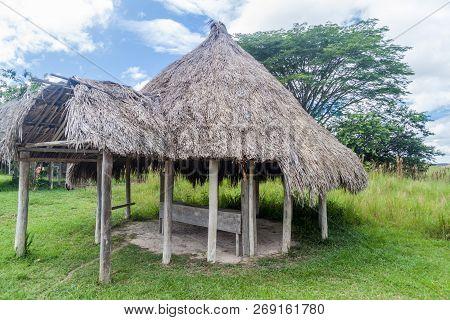 Simple House In An Indigenous Village In Gran Sabana Region Of Venezuela