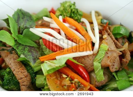 Stirfry Beef And Vegetables 2