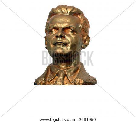 A Bust Of Peter Jilemnicky