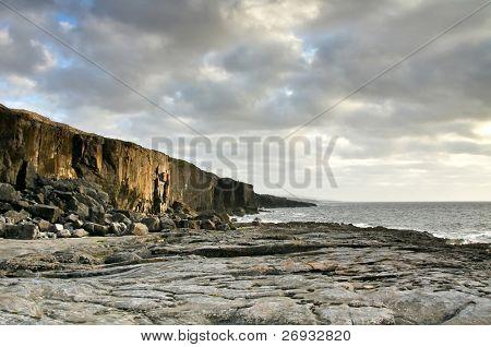 Fanore cliff