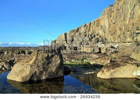 Severe irish scenery - Fanore cliff