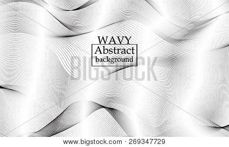 Fluid Texture. Flow Shapes Design. Liquid Wave Background. Abstract 3d Flow Shape. Modern Fluid Patt