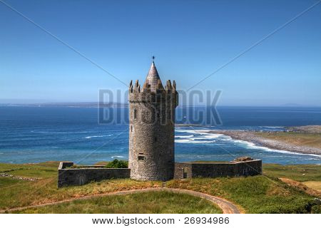 Doonagore castle in Doolin - Ireland