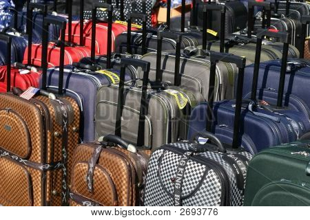 Rows Of Luggage