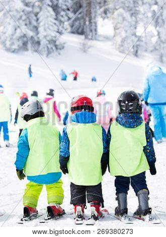 Ski School For Kids On Polygon