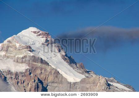 The Polish Glacier route on South America's highest peak Aconcagua poster
