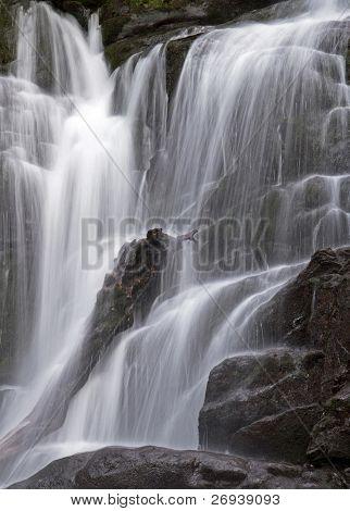Torc waterfall in Killarney National Park - Ireland poster