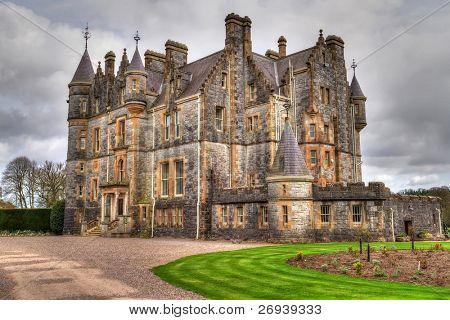 Blarney House at castle gardens - Co. Cork - Ireland poster