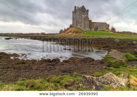 Dunguaire castle in west Ireland - HDR poster