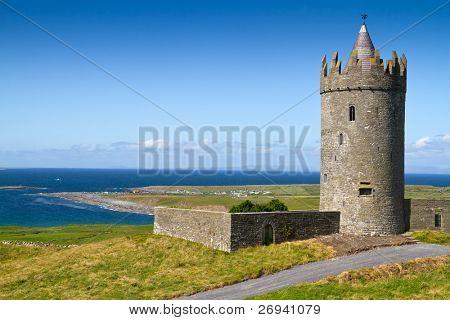 Doonagore castle near Doolin - Ireland