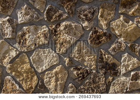 Natural Slate Stone Background, Natural Slate Stone Texture, Old Stone Masonry Wall Texture Backgrou