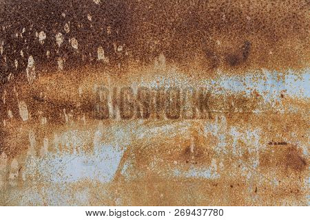 Textured Of Rusty Metal, Metal Background Texture, Metal Steel Vintage Plate With Some Old Scratch,