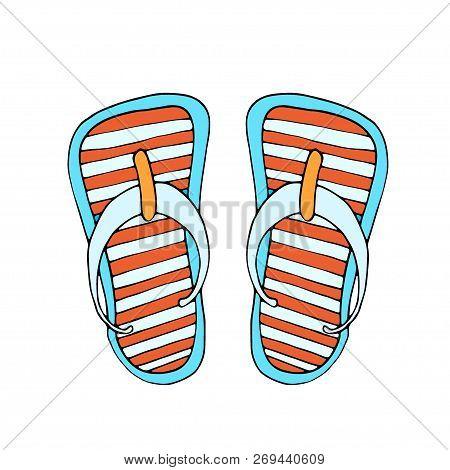 b6375979a5d4 Colorful Flip Flops