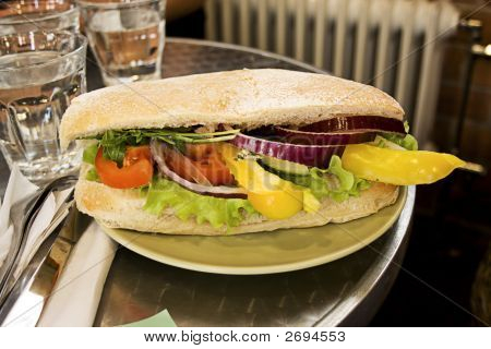 Italian Gourmet Sandwich