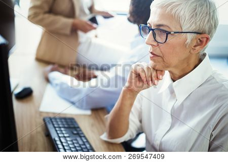 Senior Female Career Professional, Business, Accountant, Attorney, Corporate, Ceo