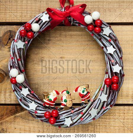 Hand Made Christmas Wreath.