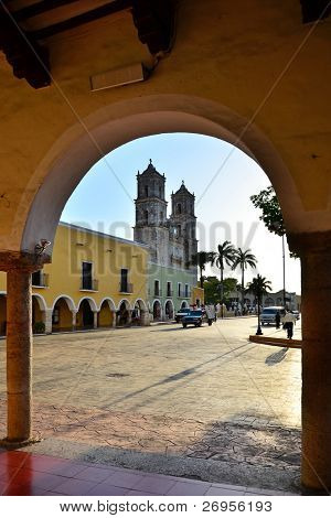 Valladolid, Mexico Cathedral of San Gervasio