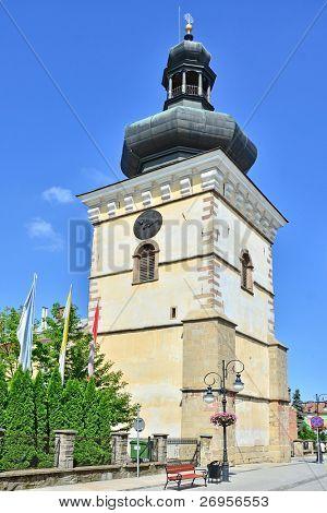 Fara Church in Krosno, Poland