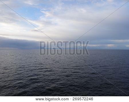 Photo Of Sea With Horizon Line