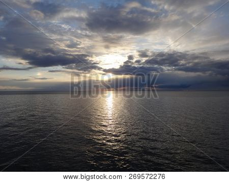 Photo Of Sunset Over The Sea