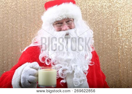 Santa Poses in a Photo Booth. Santa Claus is funny. Fun Santa Photos.