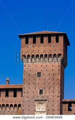 Sforza's castle in Milan