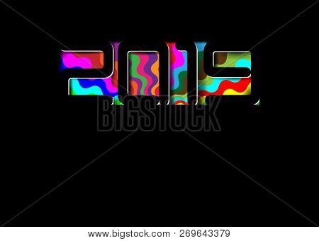 2019 happy new year card in black paper cut style seasonal holidays flyers greetings and invitations cards christmas themed congratulations and banners