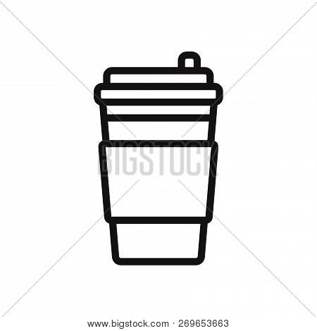 Coffee Cup Icon Isolated On White Background. Coffee Cup Icon In Trendy Design Style. Coffee Cup Vec