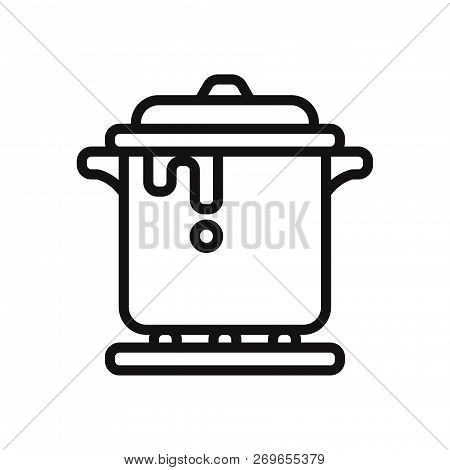 Stew Icon Isolated On White Background. Stew Icon In Trendy Design Style. Stew Vector Icon Modern An