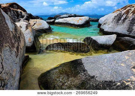 Wonderful Colors Of The Beaches Of Virgin Gorda, British Virgin Islands