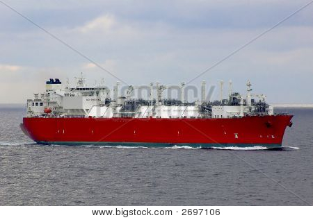 Lng Carrier Ship For Natural Gas