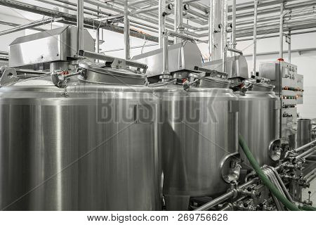 Equipment At The Milk Factory