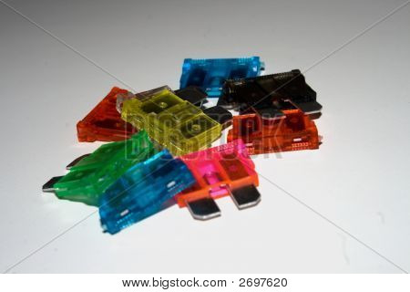 Colored Electrical Fuses V1