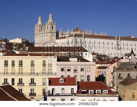 Portugal Lisbon Alfama quarter