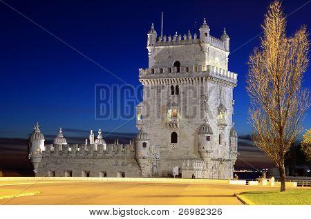 Portugal Lisbon Belem Tower