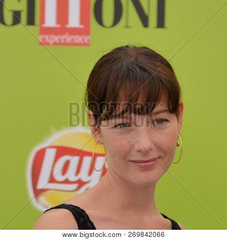 Giffoni Valle Piana, Sa, Italy - July 19, 2017 : Cristiana Capotondi At Giffoni Film Festival 2017 -