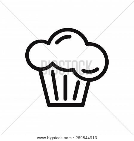 Muffin Icon Isolated On White Background. Muffin Icon In Trendy Design Style. Muffin Vector Icon Mod