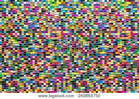 Abstract, Colorful Background Design. Vivid And Bright Colors.