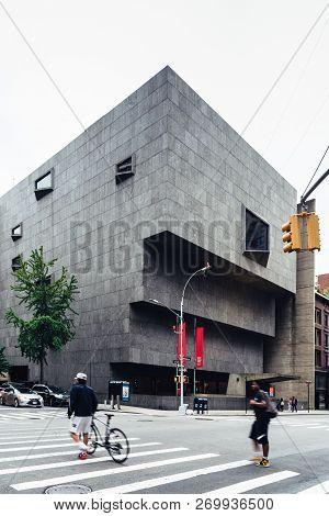 New York City, Usa - June 23, 2018: The Met Breuer, Exterior View. It Is A Museum Of Modern And Cont
