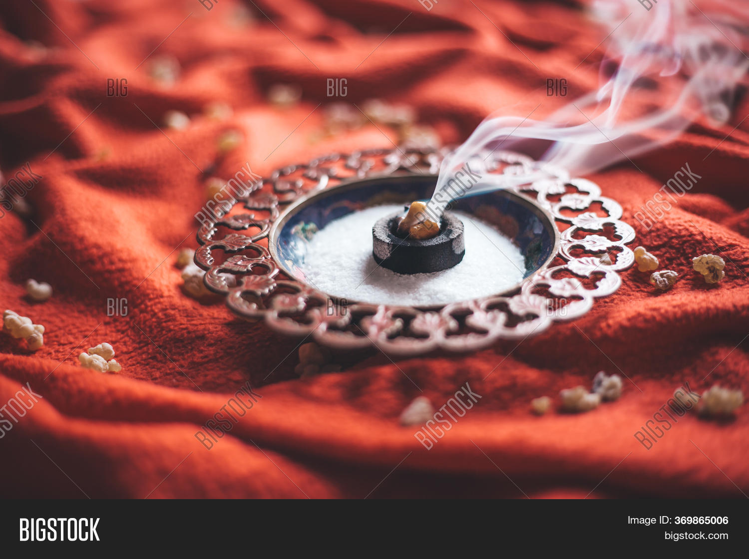 Frankincense Burning Image Photo Free Trial Bigstock