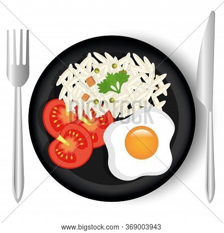 Food And Gastronomy Graphic Design, Vector Illustration.