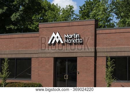 Carmel - Circa May 2020: Martin Marietta Materials Location. Martin Marietta Materials Supplies Aggr