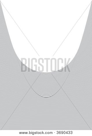Swirling stripey background for covers and page watermarks poster