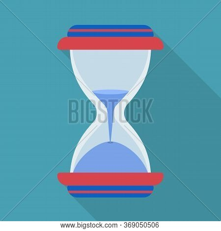 Vector Illustration Of Sandglass And Flow Icon. Web Element Of Sandglass And Transparent Stock Vecto