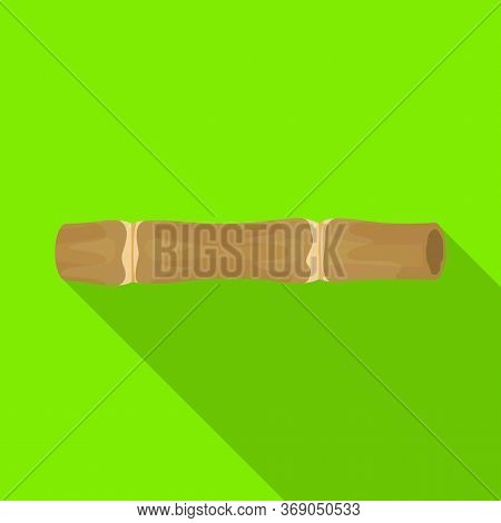 Isolated Object Of Sugar And Cane Icon. Web Element Of Sugar And Plant Vector Icon For Stock.