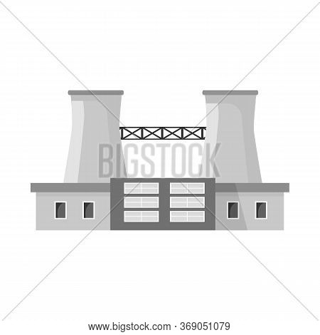 Vector Illustration Of Warehouse And Import Sign. Set Of Warehouse And Logistics Stock Symbol For We