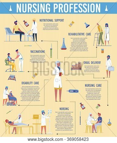 Nursing Profession Responsibility. Disability Care, Drip Chamber, Vaccination, Nutritional Support,