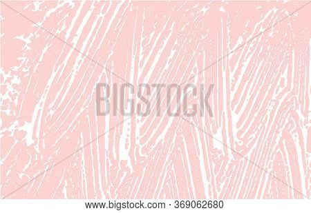 Grunge Texture. Distress Pink Rough Trace. Flawless Background. Noise Dirty Grunge Texture. Indelibl