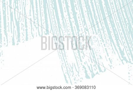 Grunge Texture. Distress Blue Rough Trace. Classic Background. Noise Dirty Grunge Texture. Lively Ar